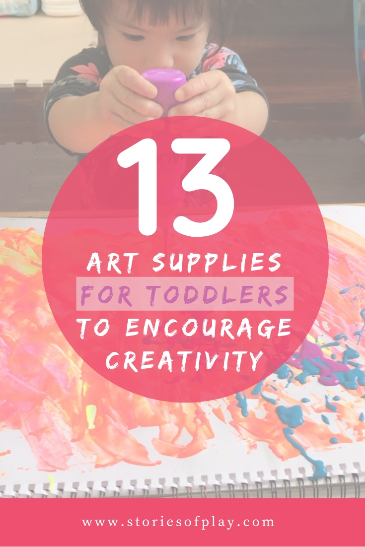 13 Favourite Art Supplies for Toddlers That Encourage Creativity (with Limited Mess)